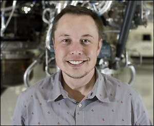 Elon Musk, founder of SpaceX