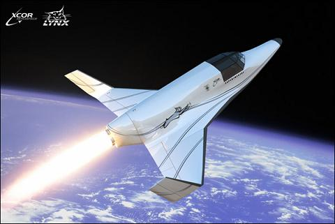 XCOR's Lynx suborbital vehicle