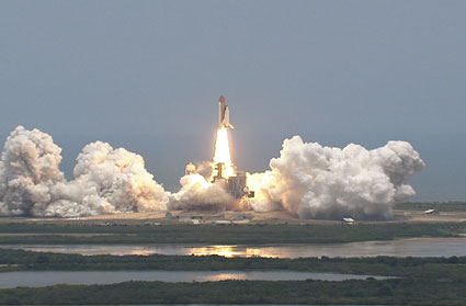 Space Shuttle Atlantis launch, May 11, 2009