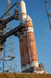 United Launch Alliance's Delta IV Heavy.