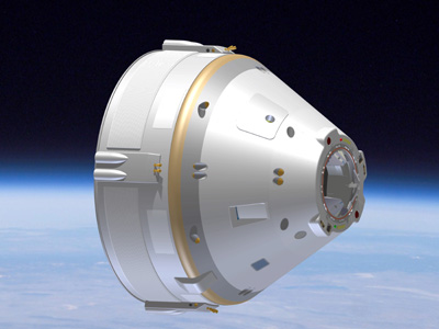 Boeing's proposed commercial capsule.