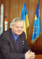 Ukraine space agency Chairman Yuri Alekseyev
