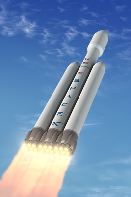 Falcon Heavy. (Credit: SpaceX)