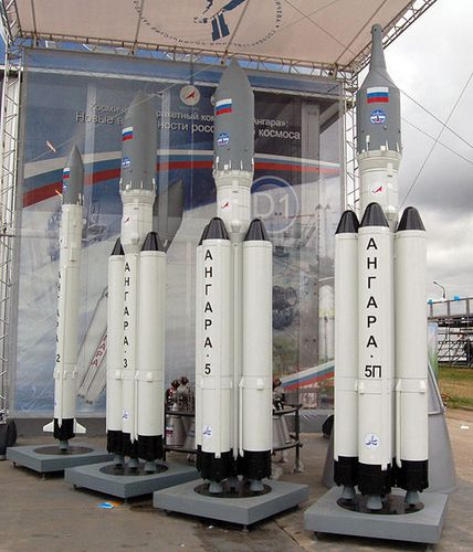 The Angara rocket family. (Credit: Allocer)