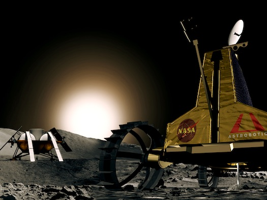 Astrobotic's Polaris lunar rover. (Credit: Astrobotic Technology)