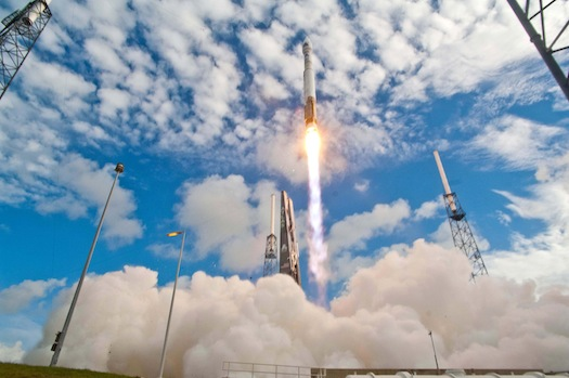 Launch of Atlas V NRO satellite on June 20, 2012. (Credit: ULA)
