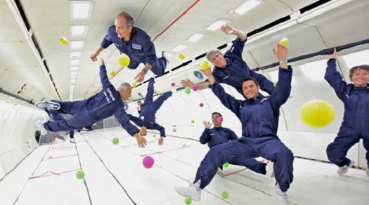why astronauts in outer space experience weightlessness - photo #18