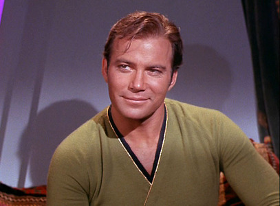 Image result for william shatner as captain kirk