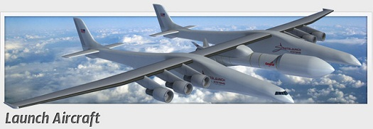 The new design of Stratolaunch's carrier aircraft. (Credit: Stratolaunch Systems)