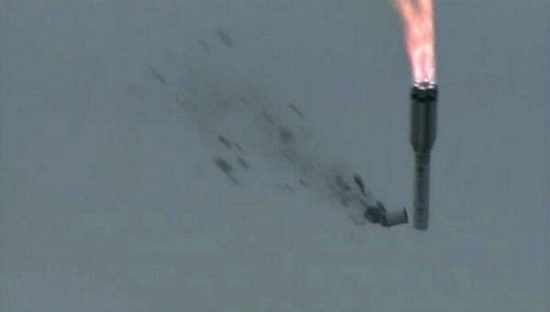 Another fine day for Russia's space program. A Proton crashes with three GLONASS satellites.
