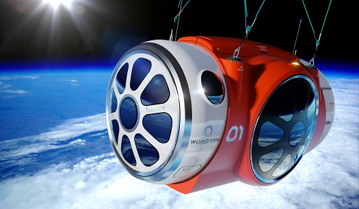 Crewed high altitude capsule. (Credit: World View)