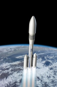Artist's impression of Ariane 6. (Credit: ESA)