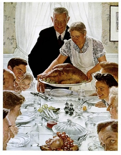 thanksgiving_feast_norman_rockwell