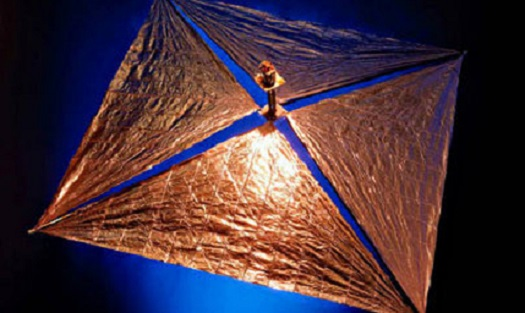 Gossamer deorbit sail. (Credit: University of Surrey)
