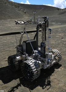 Resource Prospector Mission field test in Hawaii. (Credit: NASA)