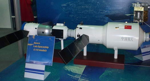 Model of the Tiangong-2 space station