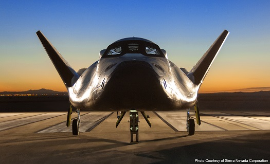 Dream Chaser shuttle. (Credit: NASA)