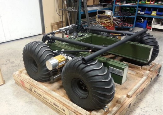 Ontario Drive Gear rover (Credit: PISCES)
