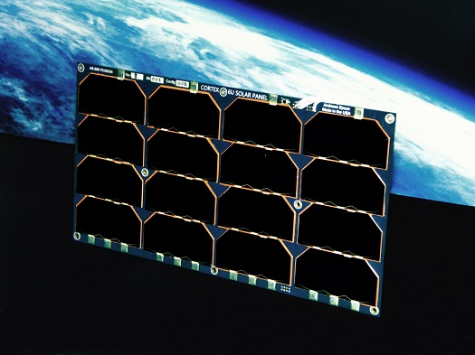 Andrews Space 6U CubeSat solar panel. (Credit: Andrews Space)