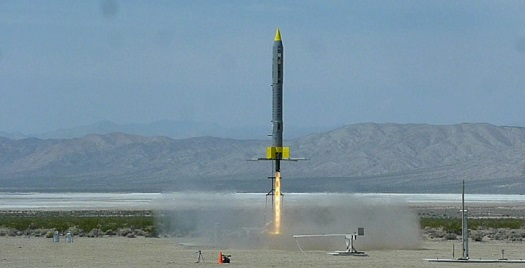 Interorbital launch at FAR. (Credit: Interorbital Systems)