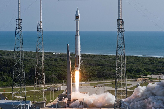 Launch of Atlas V with NROL-33 satellite from Cape Canaveral Air Force Station on May 22, 2014. (Credit: ULA)