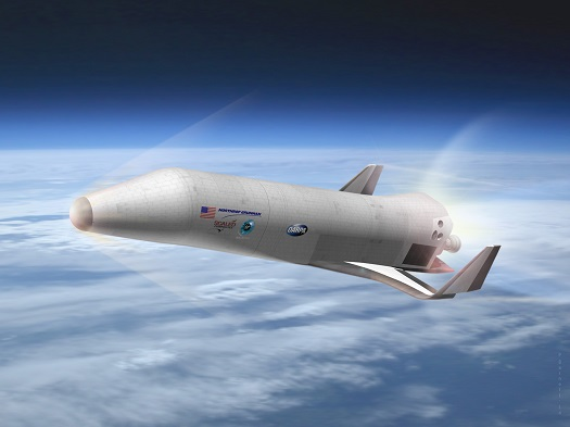 XS-1 entry (Credit: Northrop Grumman)