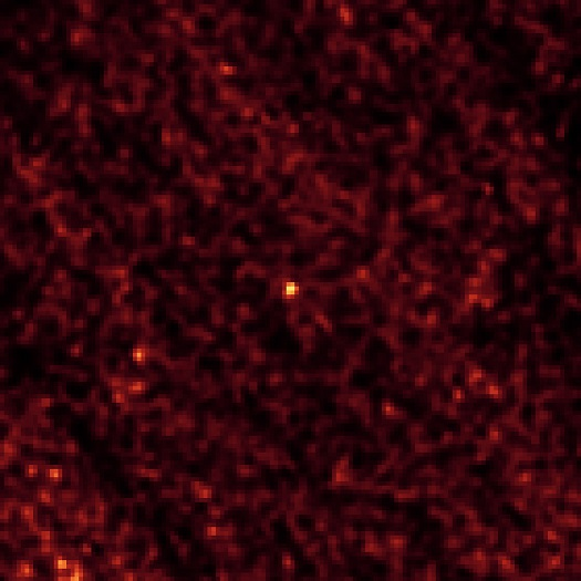 This image of asteroid 2011 MD was taken by NASA's Spitzer Space Telescope in Feb. 2014, over a period of 20 hours. (Credit: NASA/JPL-Caltech/Northern Arizona University/SAO)