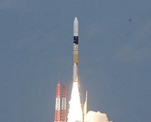 Hayabusa2 launch aboard a H-2A rocket (Credit: JAXA)
