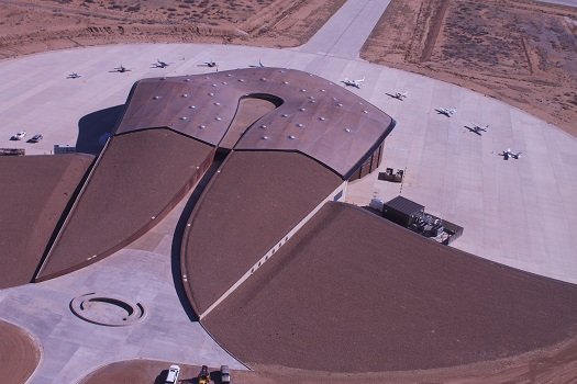 Spaceport America fly-in. (Credit: NMSA)