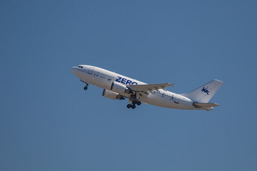 Airbus A310 refitted for parabolic flights. (Credit: ESA)