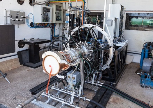STOIC Engine Test Rig. (Credit: Reaction Engines)