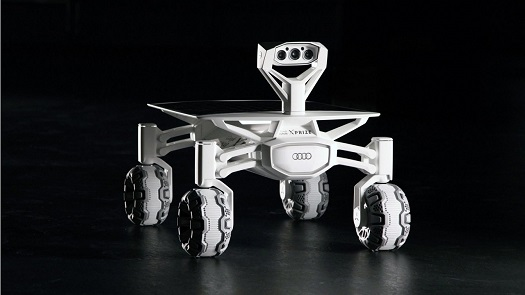 Part-Time Scientists rover. (Credit: Audi)