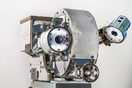 VIPIR's three cameras – the Motorized Zoom Lens (left), a video borescope, (center) and a camera for situational awareness (right) were put to the test during RRM operations in May 2015. (Credit: NASA)