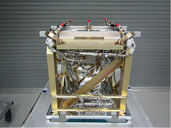 A green propellant propulsion subsystem was recently delivered to Ball Aerospace for integration into the Green Propellant Infusion Mission spacecraft. The subsystem will be one of three experimental payloads on the spacecraft. (Credit: Ball Aerospace)
