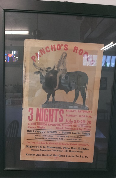 Pancho's Rodeo (Credit: Douglas Messier)