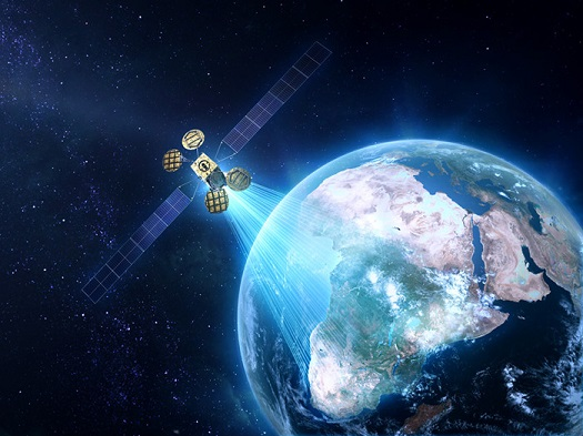 Spacecom AMOS-6 satellite, (Credit: Eutelsat)