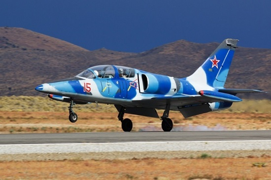 L-39C Albatros returns from Citizens in Space mission.(Credit: Citizens in Space)