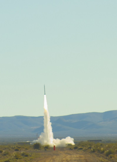 SL-10 launch (Credit: Spaceport America)
