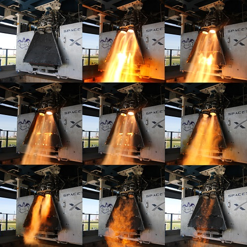 SuperDraco hot fires (Credit: SpaceX)