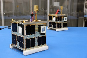 CanX-4 and CanX-5 are a pair of identical nanosatellites built by the Space Flight Laboratory, and launched in June 2014. (Credit: UTIAS Space Flight Laboratory)