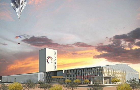 World View headquarters in Pima County. (Credit: World View Enterprises)