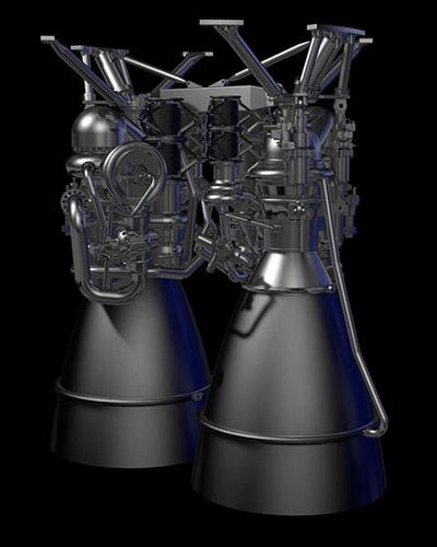 AR1 engine (Credit: Aerojet Rocketdyne)