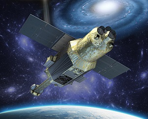 ASTRO-H satellite (Credit: JAXA)