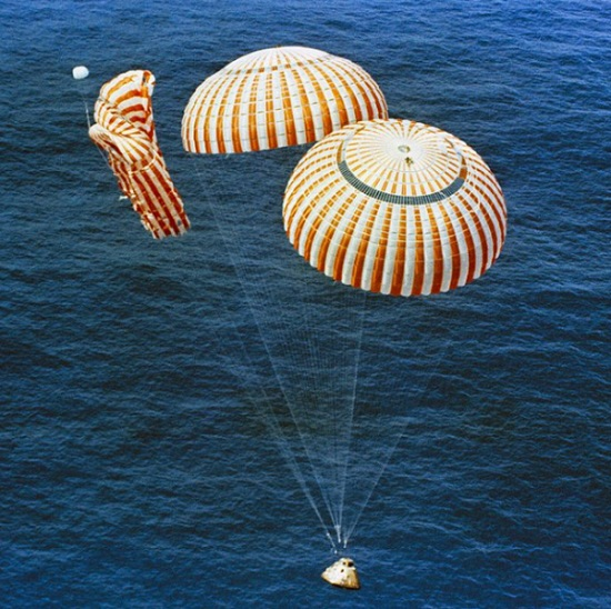 Apollo 15 descent (Credit: NASA)