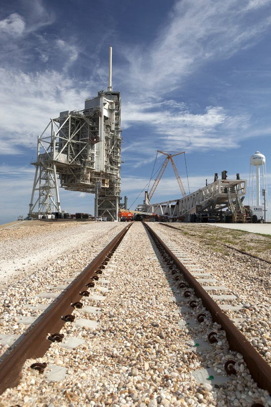 Historic Pad 39A Being Transformed for Falcon Launches ...