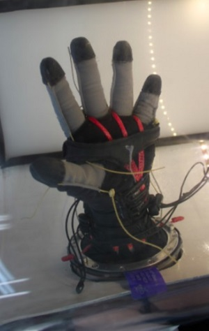 Mechanical Counter Pressure glove prototype (Credit: Final Frontier Design)