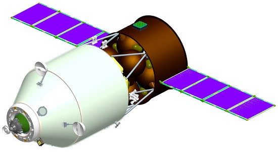 Increased Capacity Cargo Transportation Spacecraft (Credit: RSC Energia)