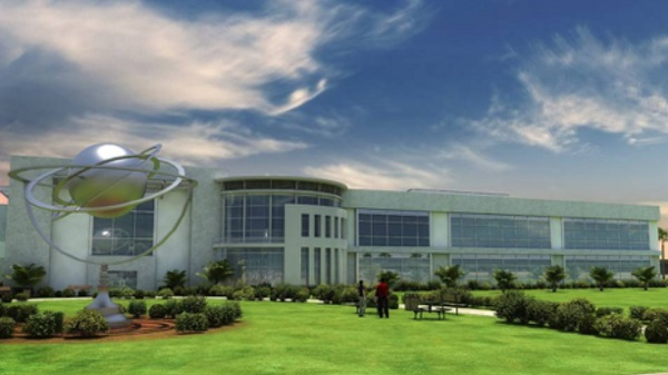 Planned OneWeb production facility in Exploration Park, Fla. (Credit: OneWeb)
