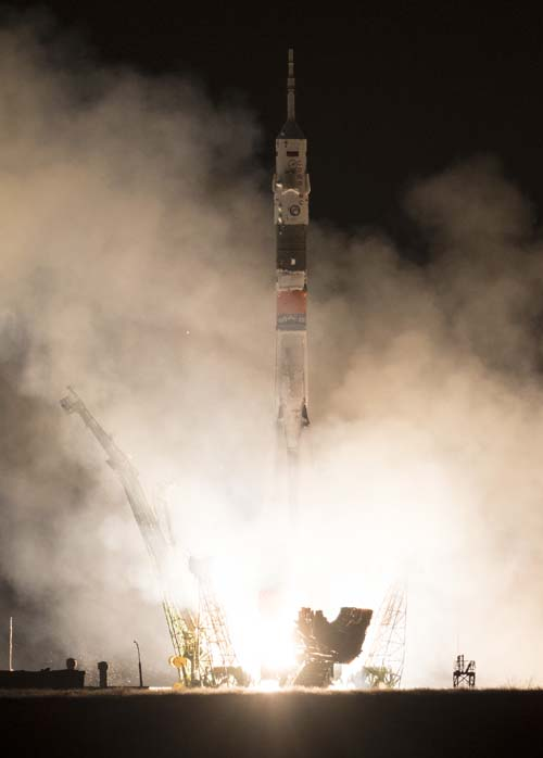 NASA TV to Air Launch of Next ISS Crew – Parabolic Arc