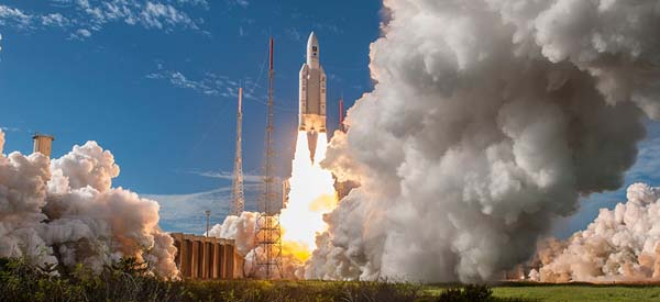 Successful Ariane 5 Launch Continues Buildout of Galileo Navigation System